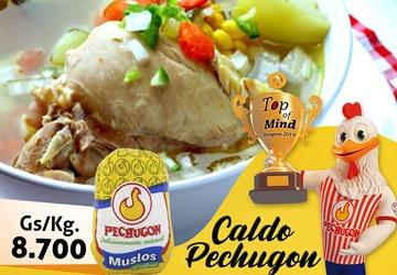 Un delicioso y nutritivo caldo con la ofertaPechugon